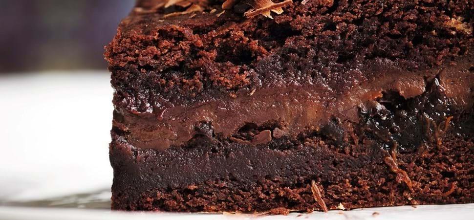Krydret chokoladekage med mørk chokolade - Se opskriften